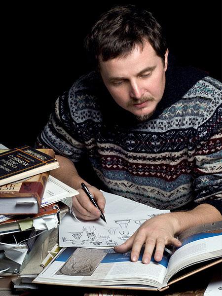 Leonid Golovko. Creating a sketch
