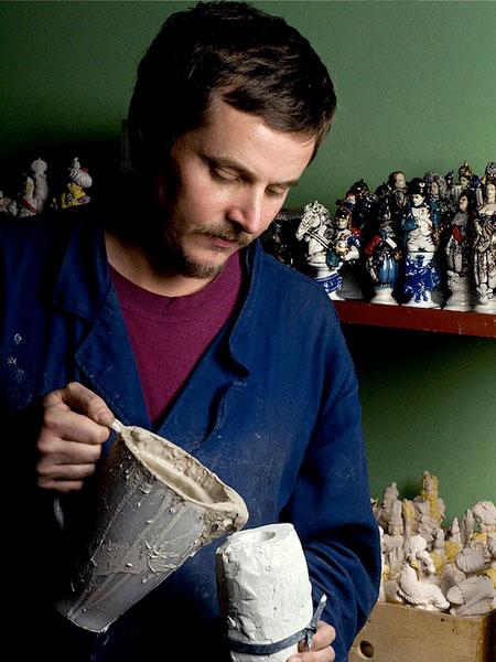 Leonid Golovko. Mold casting