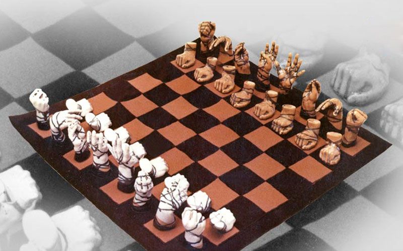"Collectible chess ""Arms"". Figure"