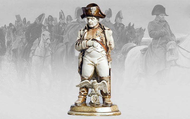 "Author's sculpture ""Napoleon"". Figure"