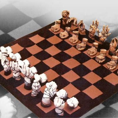 """Коллекционные шахматы """"Ручки"""""""